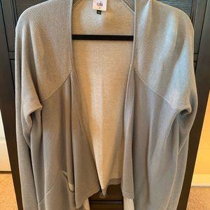 EUC CABi Green Pocket Cardigan Sweater Medium